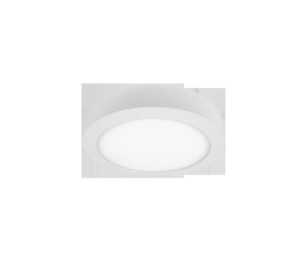 PANEL LED OKRUGLI 12W 2700K-3000K BIJELI (7538)